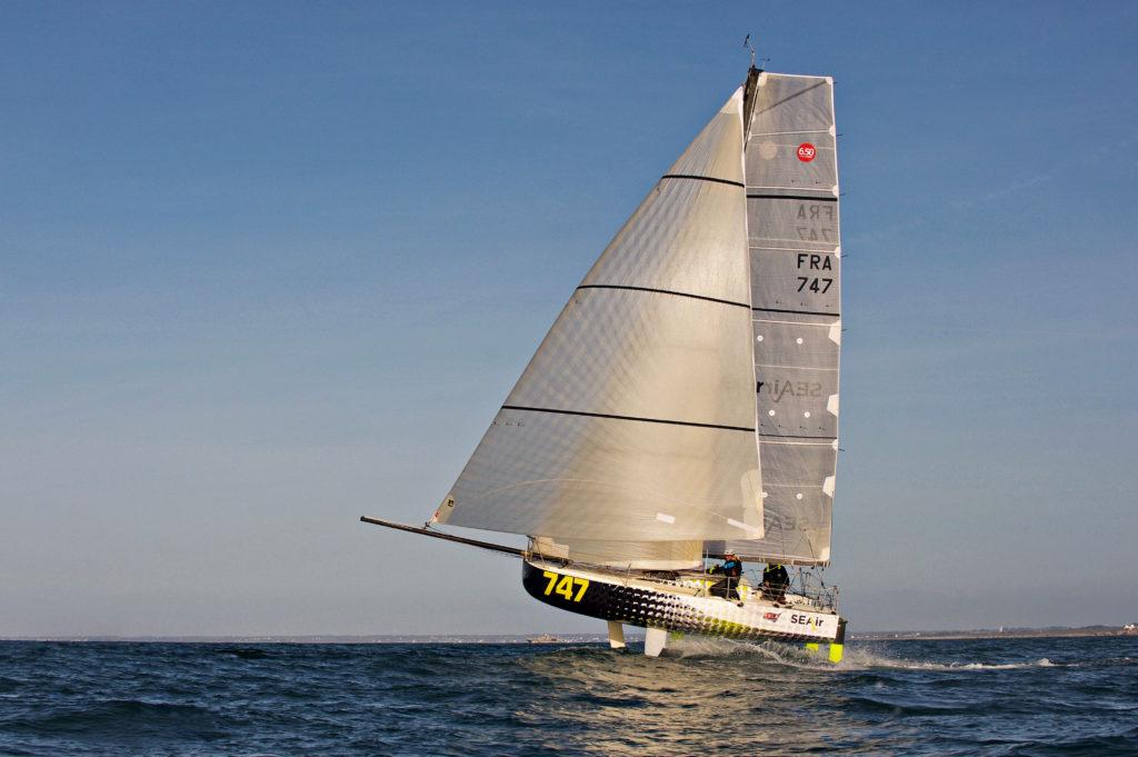 Mini Transat -luokassa on tähänkin asti nähty todella hurjia uusien venetyyppien kokeiluja.