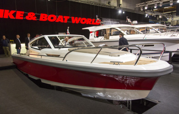 Vene 18 Båt: Näyttelyn vene -finalistit avovene-, retkivene- ja yhteysveneluokassa