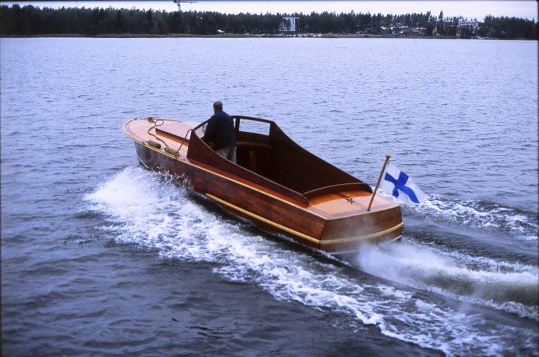 Kieltolaki sai aikaan huikean kehityksen nopeiden veneiden rakentamisessa