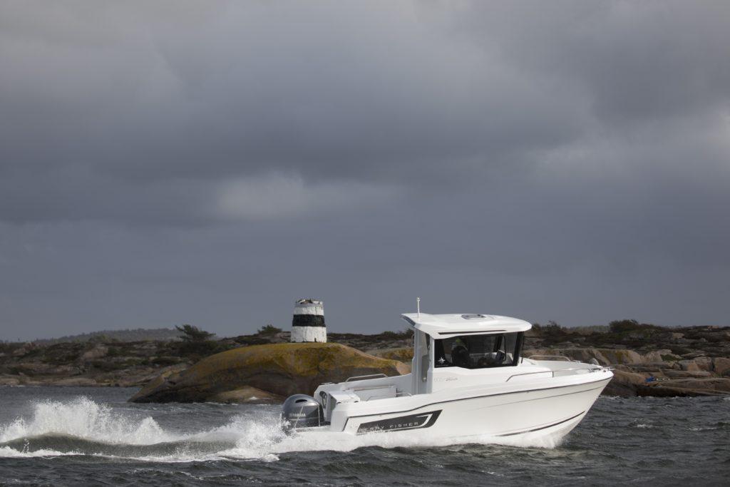 605 on Jeanneaun Merry fisher -malliston pienin. Se on pippurinen uutuus suomalaisillekin vesille.